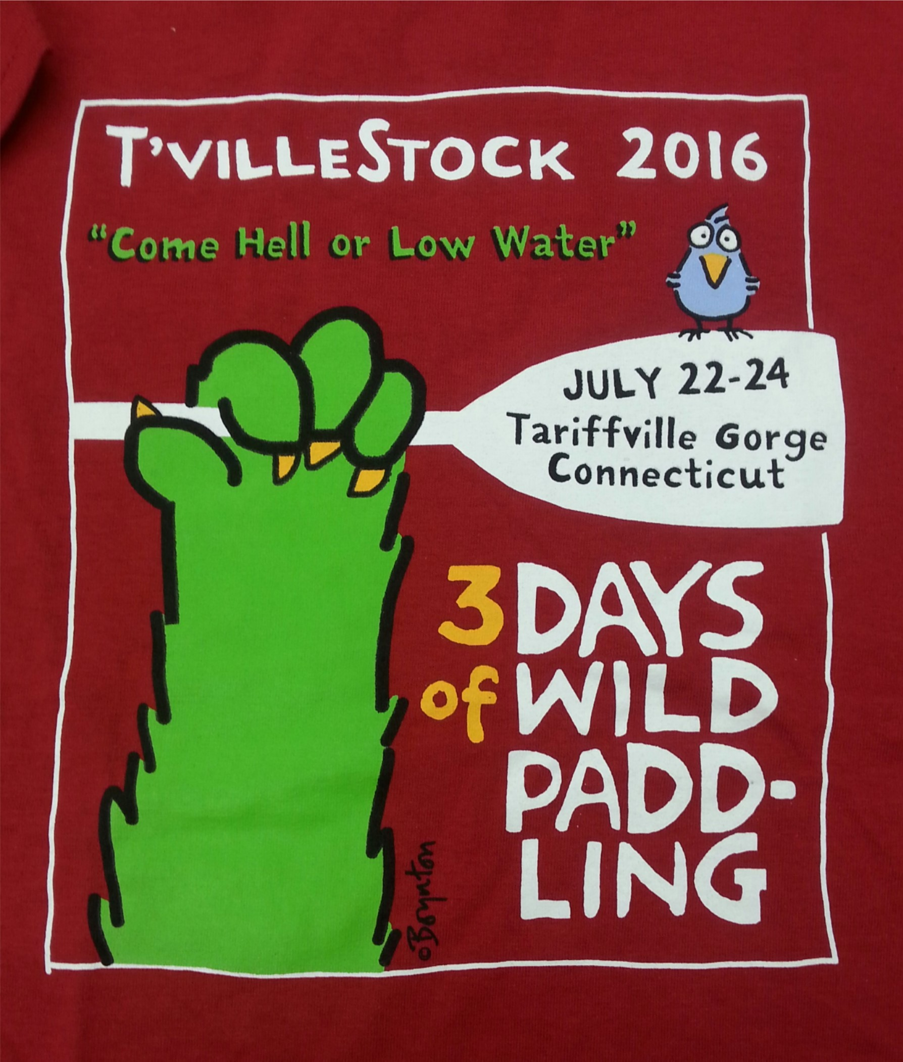 T'Ville '16 T-Shirt Close-up