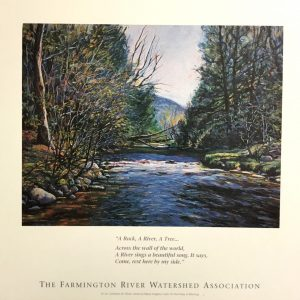Poster – Catherine M. Elliot watercolor of the River