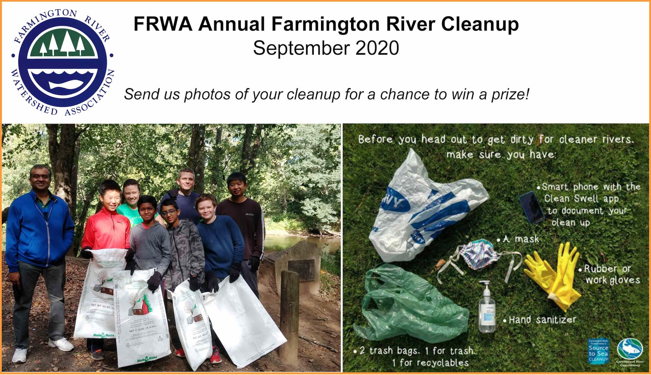 Annual River Cleanup – September 2020